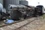 İlaçlama yapan tren vagonu devrildi: 1 ölü, 3 yaralı