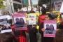 Stuttgart'ta 'Gazeteci Meşale Tolu'ya özgürlük' yürüyüşü