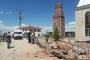 Minareişçilerin üstüne yıkıldı: 1 ölü, 1 yaralı