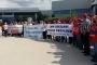 Yenişehir cam işçilerine destek büyüyor