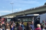 Söğütlüçeşme'de iki metrobüs çarpıştı
