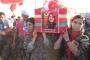 'Kırmızı fularlı kız' Kobani'de toprağa verildi