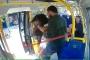 Minibüste kadına saldırının görüntüleri ortaya çıktı