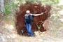 Kırklareli'de defineciler, tarihi taş mezarları talan etti