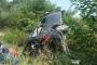 Tur minibüsü devrildi: 10 yaralı