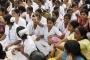 Hindistan'da hemşireler greve çıkıyor