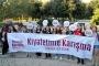 Kadınlar Maçka Parkı'ndaki güvenlik tacizini protesto etti