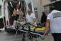 Gölcük'teki inşaatta iskeleden düşen sıvacı yaralandı