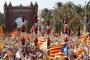Katalanlar, İspanya'dan ayrılmak ve bağımsızlık için yürüdü
