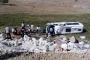 Kütahya'da yolcu minibüsü devrildi: 7 yaralı