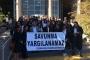 Gülmen ve Özakça'nın tutuklu avukatlarına destek