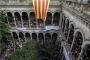 Binlerce öğrenci Barselona Üniversitesi'ni işgal etti