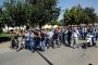 Antep'te sayacıların iş bırakma eylemi sürüyor
