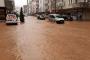 Arhavi'de şiddetli yağış, su baskınlarına neden oldu