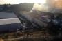 Mersin'de karton fabrikasında yangın çıktı