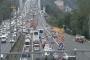 FSM Köprüsü'ndeki çalışma trafiği felç etti