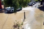Bodrum'da su isale hattı yine patladı, halk öfkeli