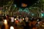 Barselona'da 200 bin kişi: Siyasi tutukluları bırakın
