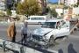 Eşref Kolçak otomobiliyle kaza yaptı