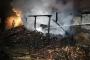 Ereğli'de kereste fabrikası yangında kül oldu
