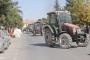 Karaman'da köylülerden pancar kotasına traktörlü protesto