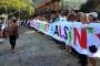 Muğla'da şarkılı, türkülü, halaylı sit protestosu