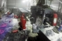 Alüminyum fabrikasında yangın: 2 işçi dumandan etkilendi
