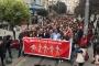 Yüzlerce kişi gazetecilere özgürlük için yürüdü