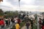 Düzce'de devrilen beton mikserinin sürücüsü öldü