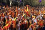 Barselona'da birlik yanlısı büyük yürüyüş