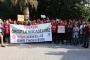 Ege Üniversitesi'nde işçilerin eylemine izin verilmedi