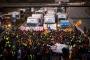 Katalan emekçiler siyasi tutuklar için greve çıktı