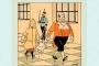 Orijinal Tenten çizimi 500 bin avroya satıldı