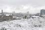 Yurttan 'karla tanışma' manzaraları