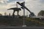 Ankara'da fıskiyeden sonra dinozor maketi de kaldırıldı