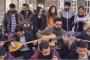 Öğrencilerden 'müzik haramdır' bildirisine müzikli cevap