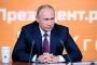 Rusya'da oyların yüzde 76.65'ini alan Putin  yeniden devlet başkanı