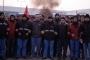 Jandarma: Başbakan gelecek bitirin İşçiler: Buyursun gelsin