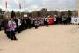 Okul Müdürü Ayhan Kökmen'in öldürülmesi protesto edildi