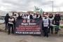 Hugo Boss'taki işten atmalar protesto edildi