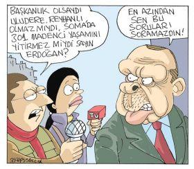 Sefer Selvi Karikatürleri