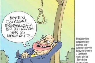 Süleyman Demirel karikatürleri