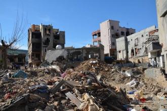 Cizre'de operasyonlardan geriye enkaz kaldı