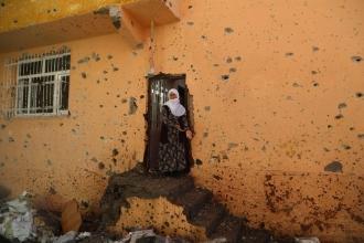 Sur'da yaşanan sokağa çıkma yasağı sonrasında yıkımın fotoğrafları