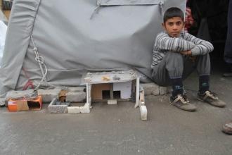 Çadır kentte çocukların yaşamı