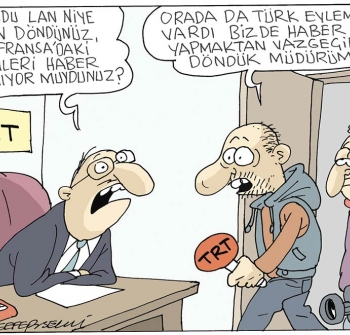 Sefer Selvi Karikatürleri