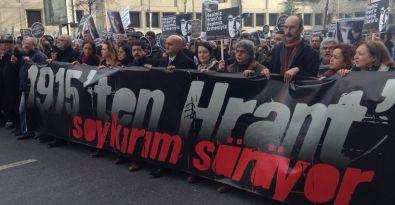 Hrant Dink, katledilişinin 8. yılında anıldı