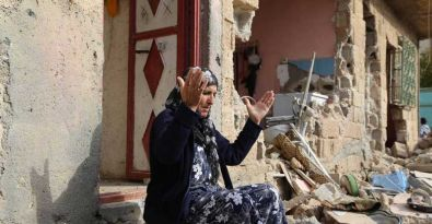 Nusaybin'de 14 günlük yıkımın fotoğrafı...