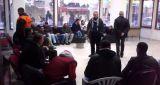 Karayolları işçileri Türk-İş binasında eyleme başladı