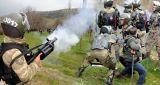 Tokat Zile'de HES protestosuna jandarma saldırısı